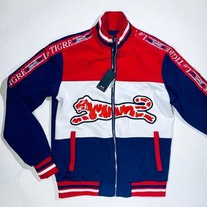 Le Tigre Men's Size M Track Jacket.  NWT